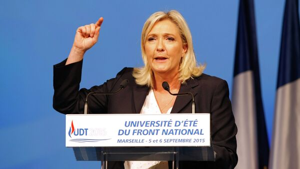 Instead of helping Russia to crash Islamic militants in Syria, France is doing the opposite – helping al-Qaeda-linked terrorists, said Marine Le Pen, the leader of French National Front party. - Sputnik International