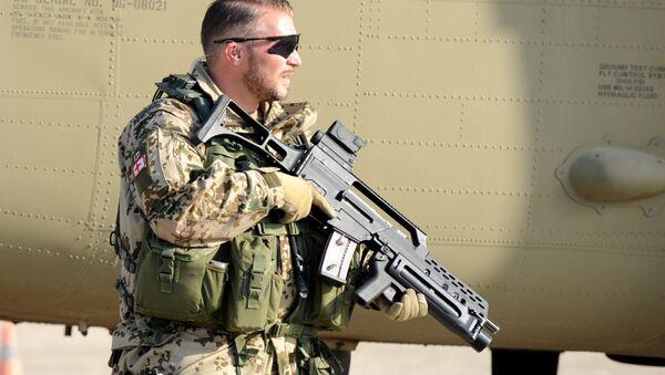 A German soldier in Afghanistan - Sputnik International