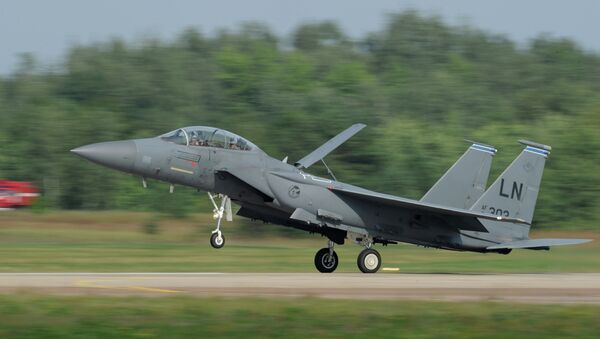 US McDonnell Douglas F-15 Eagle twin-engine and all-weather tactical fighter - Sputnik International