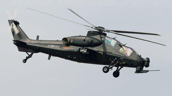 WZ-10 helicopter - Sputnik International