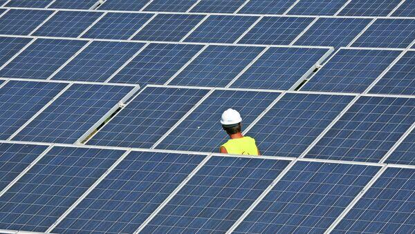 Solar power station - Sputnik International