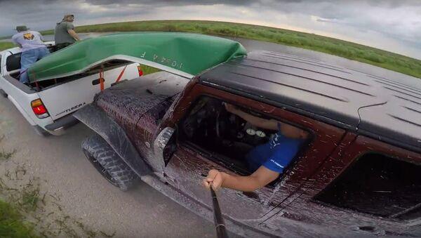 Jeep Wrangler GoPro fail - Sputnik International