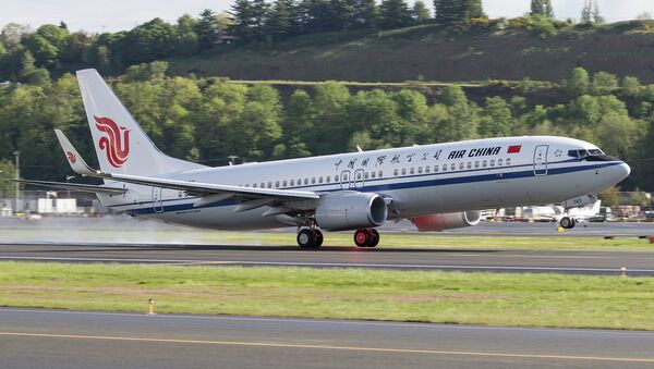 Air China Boeing 737-800 - Sputnik International