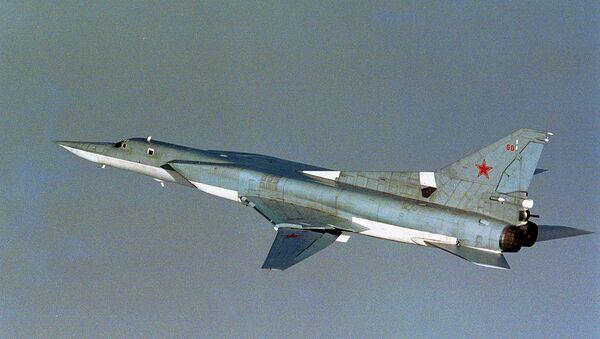 Russian TU-22M3 Backfire bomber - Sputnik International