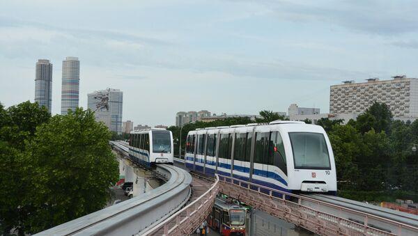 Moscow monorail - Sputnik International