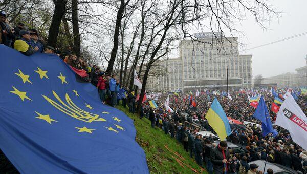 Massive pro-EU rally in Kiev. November 24, 2013 - Sputnik International