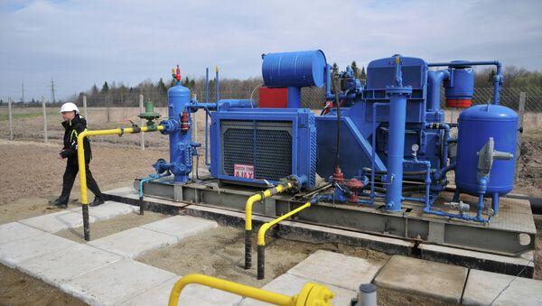 Compression unit of Krekhovskoye natural gas field - Sputnik International