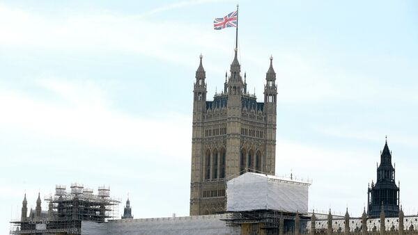 The Houses of Parliament in Westminster in London. - Sputnik International