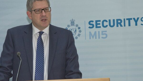 Andrew Parker, the Director General of Britain's domestic security service MI5. - Sputnik International