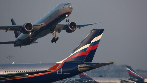 An Aeroflot Airbus A330 aircraft - Sputnik International