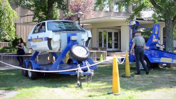 The Convincer at the University of Hartford (Seat Belt Safety Simulator) - Sputnik International