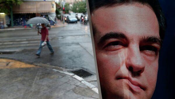 Syriza win - Sputnik International