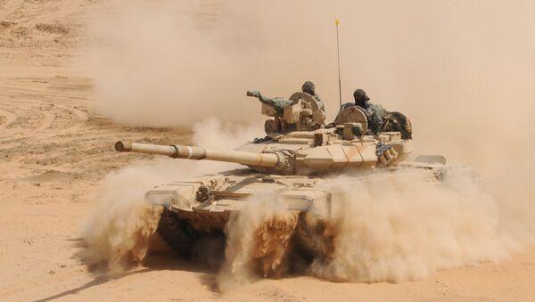 T-90 battle tank - Sputnik International