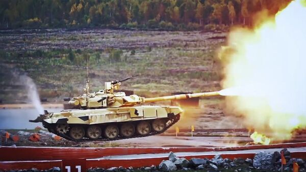The T-90 tank - Sputnik International