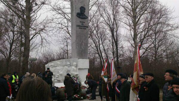 Chernyakhovsky monument in Poland. File photo - Sputnik International