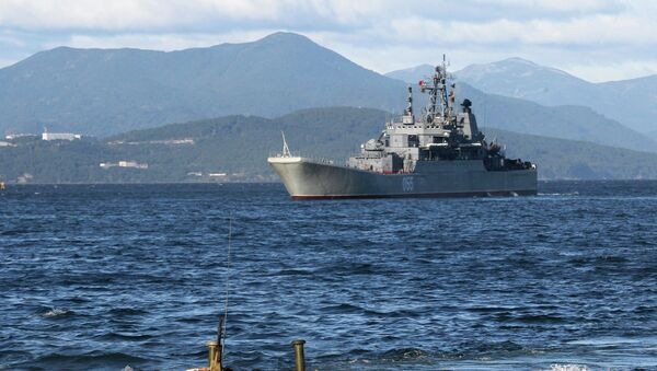 Training exercise to rebuff amphibious assault landing on shore of Kamchatka Peninsula - Sputnik International