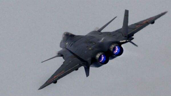China's J-20 stealth fighter - Sputnik International