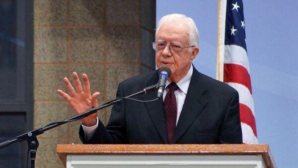 Former US President Jimmy Carter. File photo - Sputnik International