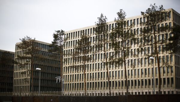 In this picture taken Thursday, April 30, 2015, the new headquarters of Germany's Federal Intelligence Agency, known by its acronym BND. - Sputnik International