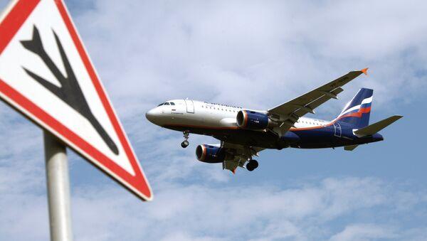 An Airbus A319 passenger aircraft of the Aeroflot company. - Sputnik International