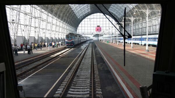 Kievsky railway station in Moscow - Sputnik International