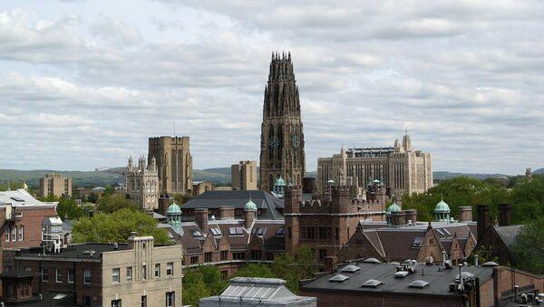 Yale University skyline, New Haven, Connecticut - Sputnik International