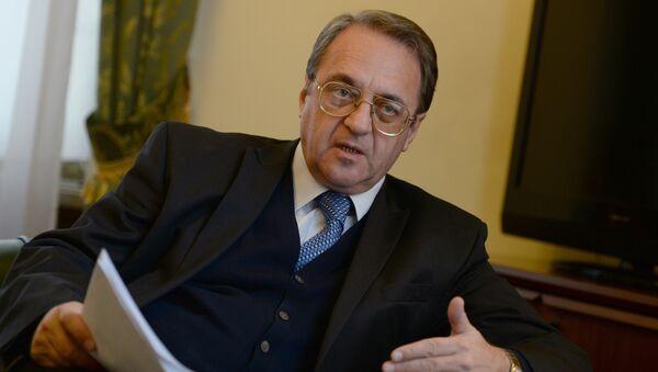 Russian Deputy Foreign Minister Mikhail Bogdanov. (File) - Sputnik International