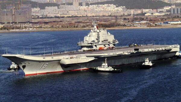 Chinese aircraft carrier Liaoning - Sputnik International