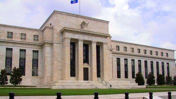 The Federal Reserve headquarters in Washington, DC - Sputnik International