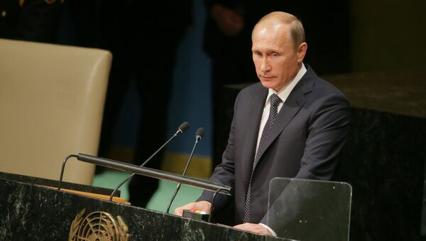 Russian President V.Putin takes part in UN General Assembly's 70th session - Sputnik International