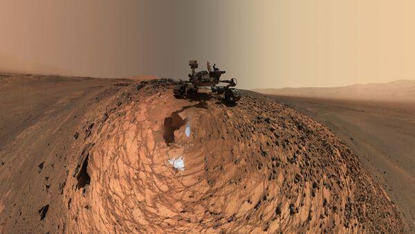 Марсоход НАСА Curiosity - Sputnik International