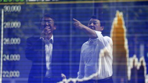 Tokyo businessmen - Sputnik International