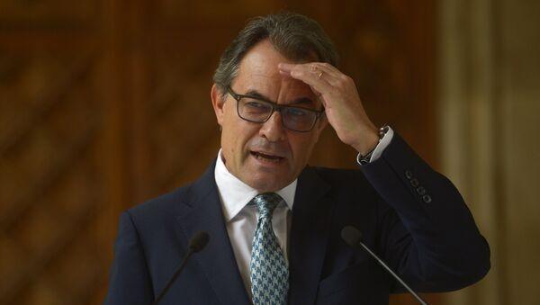 Catalonia's regional president Artur Mas - Sputnik International