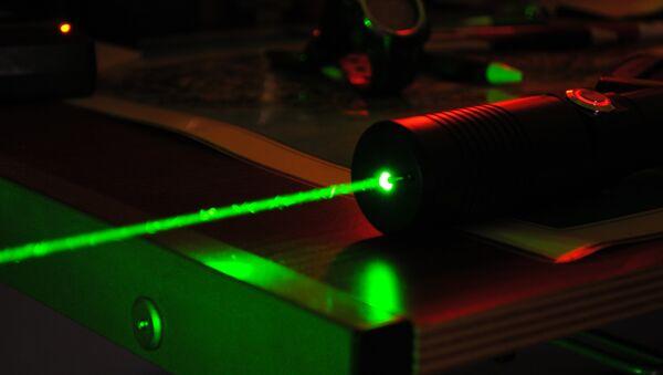 High-powered laser - Sputnik International