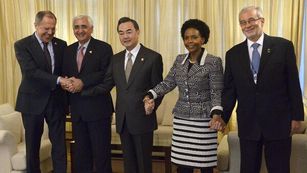 BRICS Foreign Ministers. File photo - Sputnik International