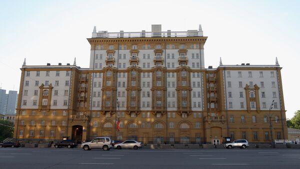 US Embassy in Moscow - Sputnik International