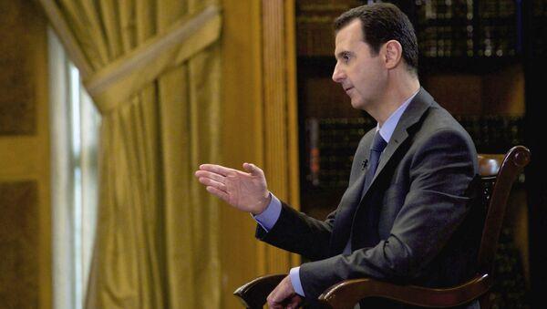 Syrian President Bashar Assad - Sputnik International