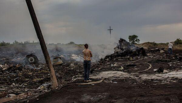 MH17 Malaysian Airlines Boeing crash in Ukraine - Sputnik International
