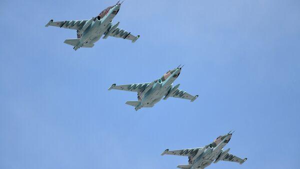 Su-25SM strike jet aircraft - Sputnik International