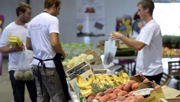 Fruits and French agricultural products. - Sputnik International