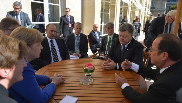 President Vladimir Putin visits France - Sputnik International