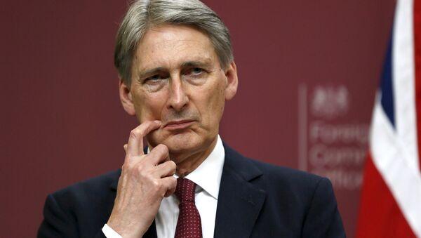 Britain's Foreign Secretary Philip Hammond - Sputnik International