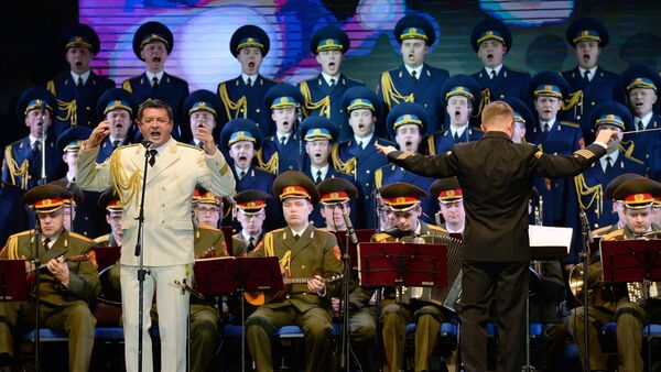 Performance of Alexandrov ensemble at Winter Arts Festival in Sochi - Sputnik International