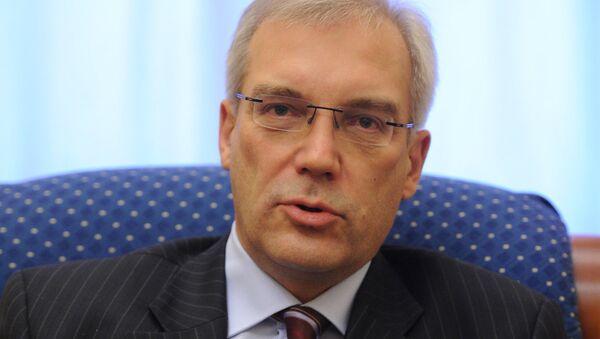 Alexander Glushko. File photo - Sputnik International