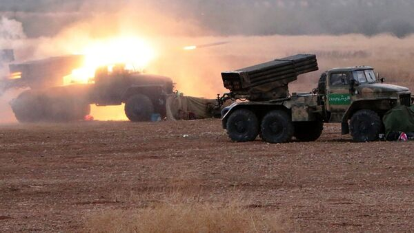 Syrian army takes offensive against ISIS militants in the north of Hama Governorate - Sputnik International