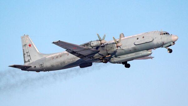A Russian Air Force Ilyushin Il-20 reconnaissance aircraft. - Sputnik International