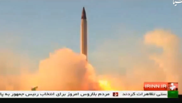 Iran Emad ballistic missile with high precision guidance and control systems till reach its target - Sputnik International