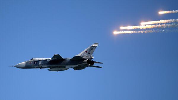 Su-24 jet - Sputnik International