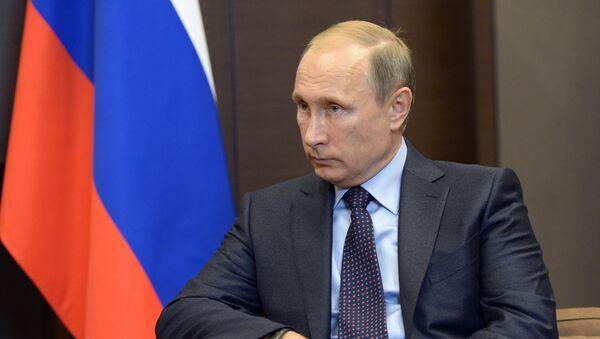 President Vladimir Putin's working meeting with Tajik President Emomali Rahmon - Sputnik International