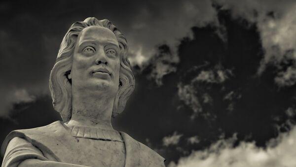 Christopher Columbus statue in Boston - Sputnik International